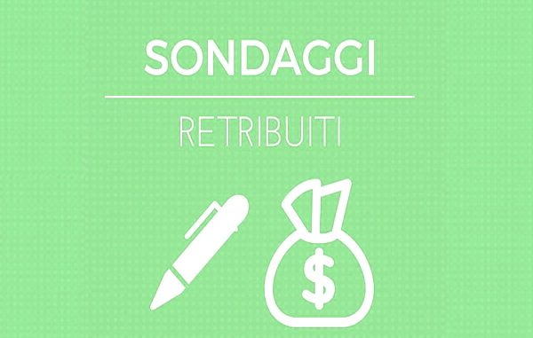 sondaggi retribuiti